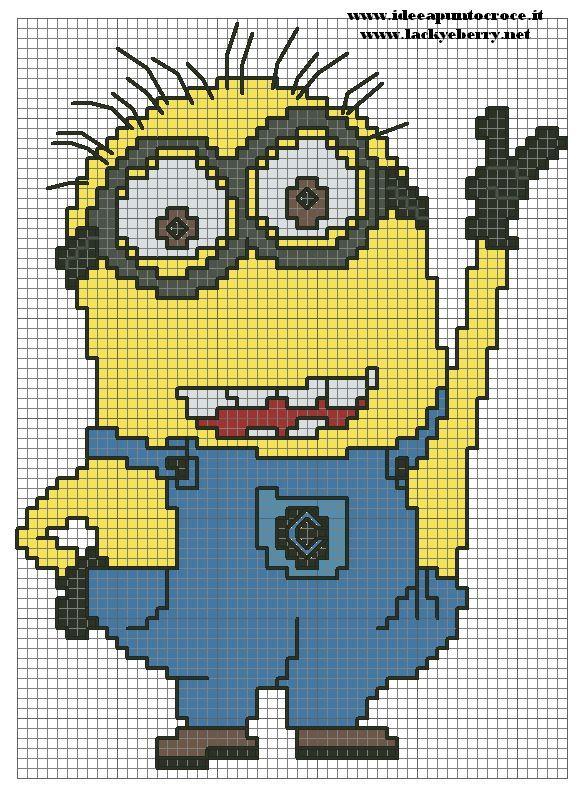 despicable me cross stitch