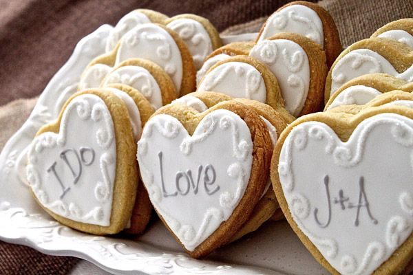 These gorgeous iced cookies by Flavor Pursuit BakeShop taste just like homemade � but better. Personalize them with your initials or a sweet message ($2.25 each, flavorpursuit.com).