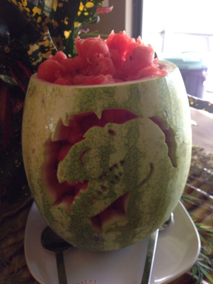 Best dinosaur watermelon ideas on pinterest