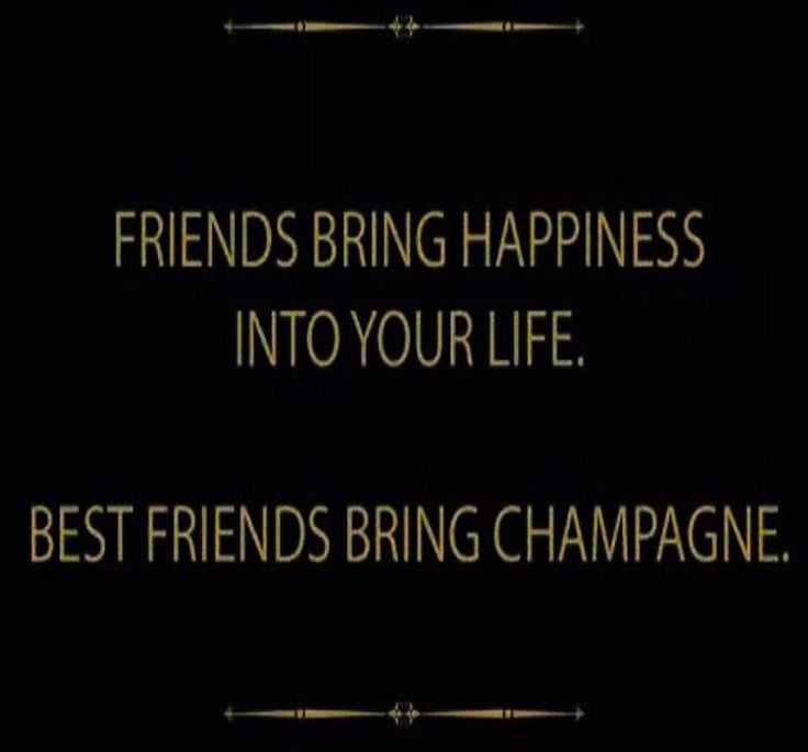 """Friends bring Champagne. Thanks for the visit....and the """"Valentines"""" ;) <3"""