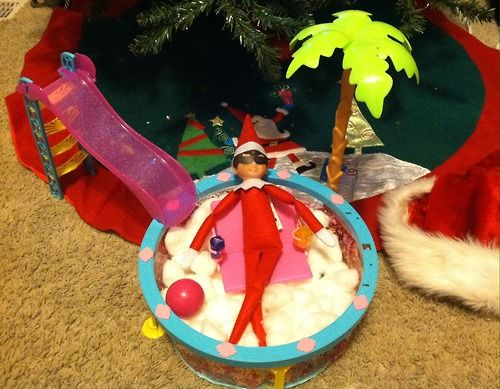 This Elf Better Put Back All Those Cotton Balls Apparently This Elf Forgot His Duties And