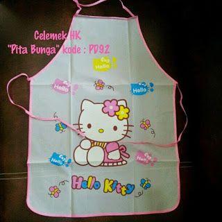 Toko Cherish Imut: Celemek Masak Hello Kitty Murah  Grosir Ecer Pita ...