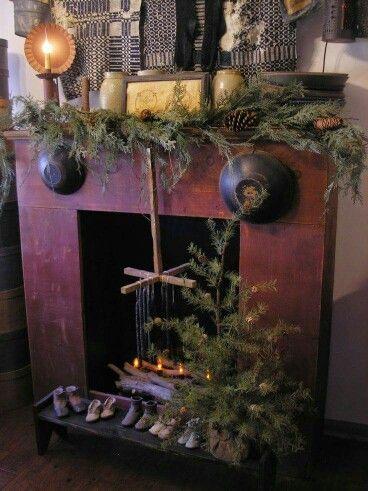 """Primitive """"Fireplace """""""