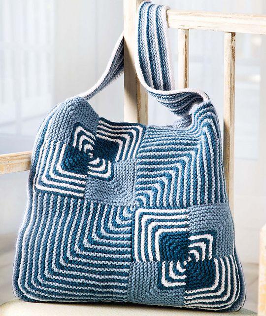 Ravelry: Stitch Sampler Boho Tote pattern by Kara Gott Warner