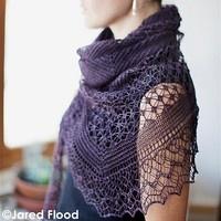 Lace Shawl-------------Just loving shawls