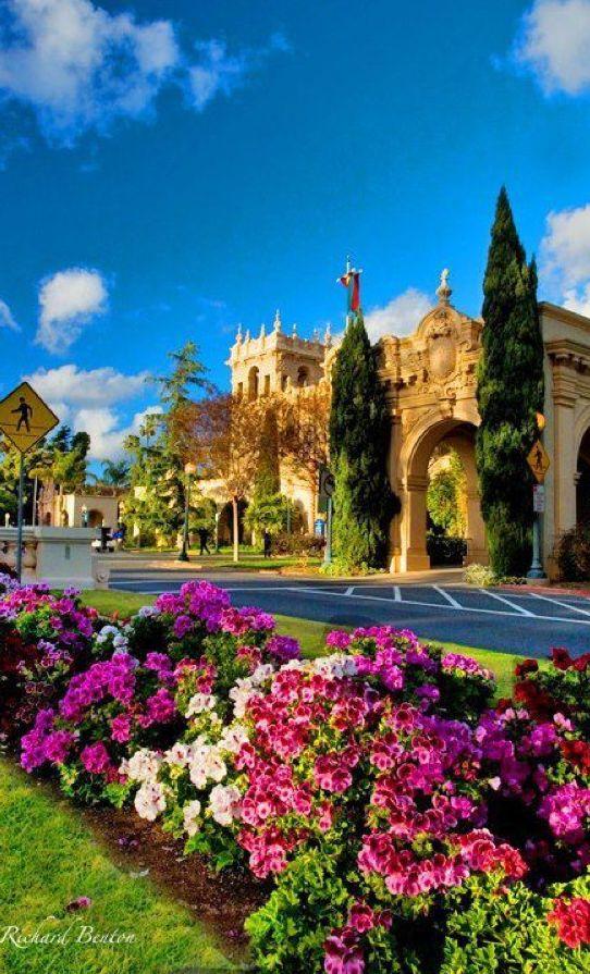 Balboa Park in San Diego, California • Richard Benton Photography