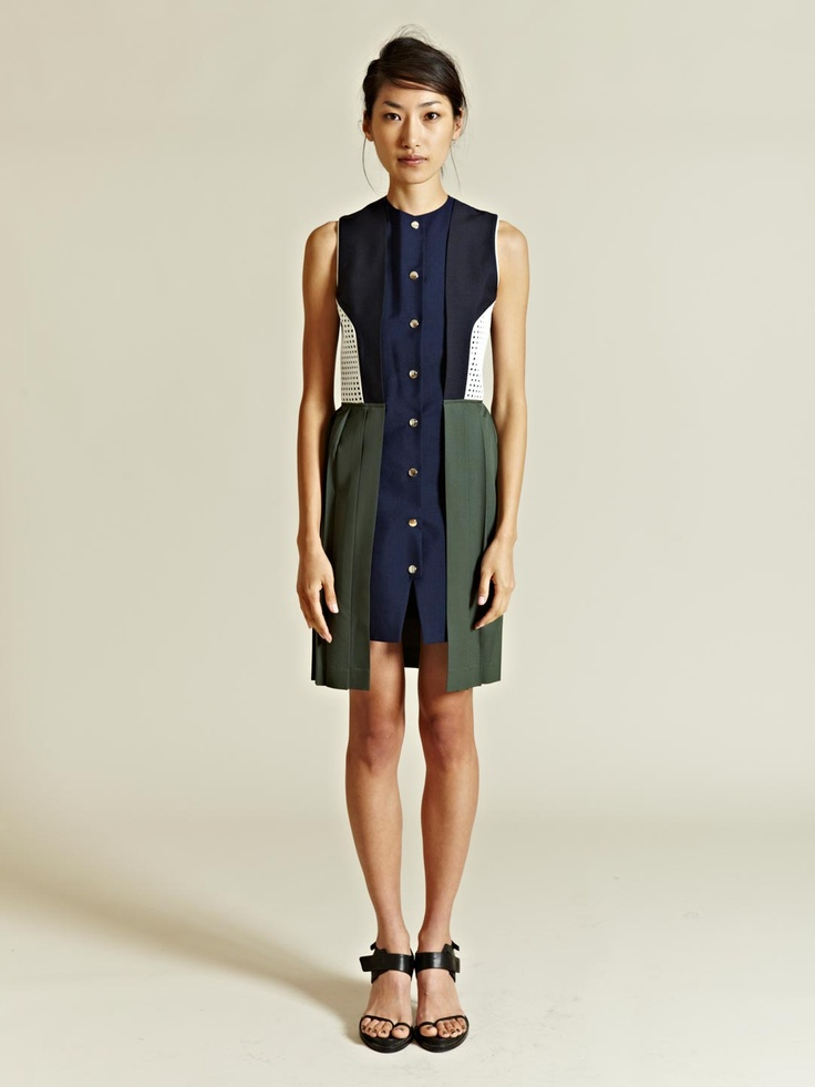 j.w. anderson contrast vest dress: Anderson Contrast, Fashion, Style, Jw Anderson, Dresses, Contrast Vest
