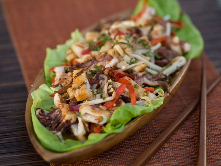 Get this all-star, easy-to-follow Vietnamese Grilled Squid Salad recipe from Food Network