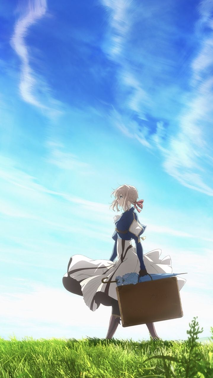 Check The Link To Download Hd Wallpapers Of Violet Evergarden And More Pc Phone A In 2020 Violet Evergarden Wallpaper Violet Evergarden Anime Violet Evergreen