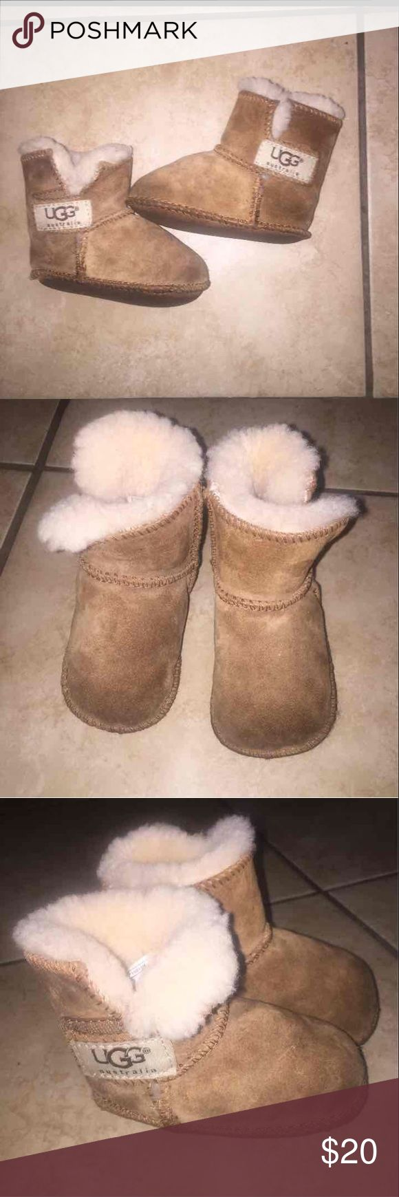 SIZE S UGG BOOTS A cute children's UGG boots. Needs a little cleaning on the bottom of the boots UGG Shoes Boots