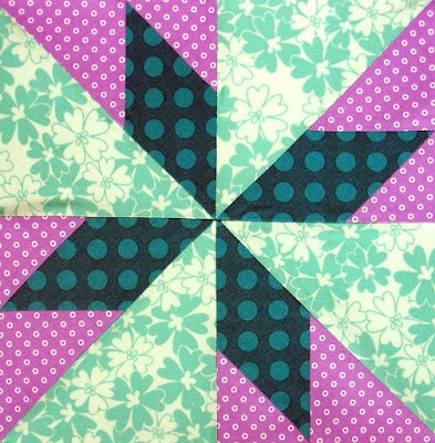 Aloha quilt block - from farmers daughter quilt