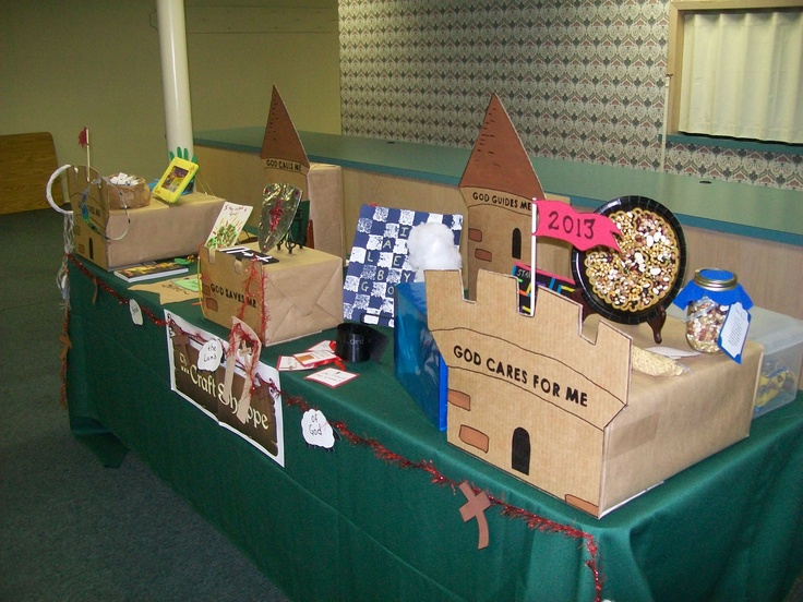 Craft Workshop from the VBS Publisher's Seminar