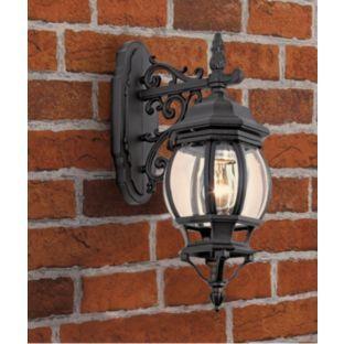 buy black pumpkin style lantern at your. Black Bedroom Furniture Sets. Home Design Ideas