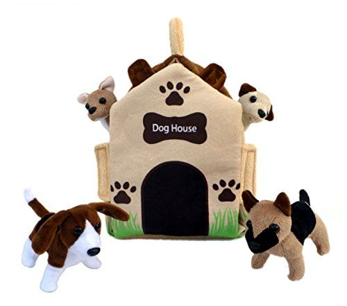 Adore 12 Dog House Pet Puppy House Plush Stuffed Animal Playset