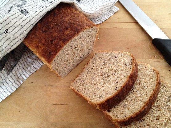 Pan de molde integral de centeno Delikatessen