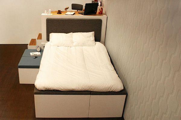 Идея дизайна интерьера в малогабаритных квартирах - 1. Мебель трансформер