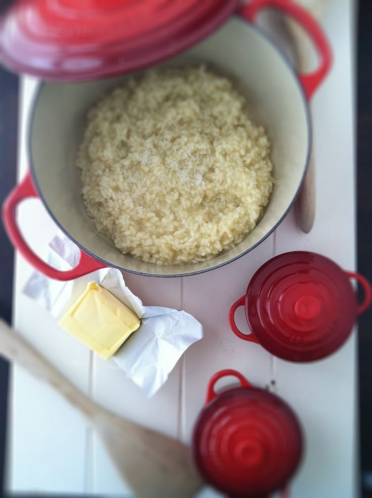 lobster risotto + Le Creuset giveaway @ bell'alimento