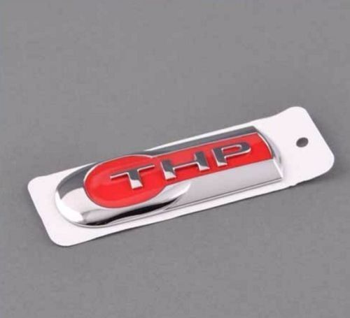 NEW Red THP Emblem Rear Trunk Fender Sticker Logo Badge for Peugeot Citroen #unbranded