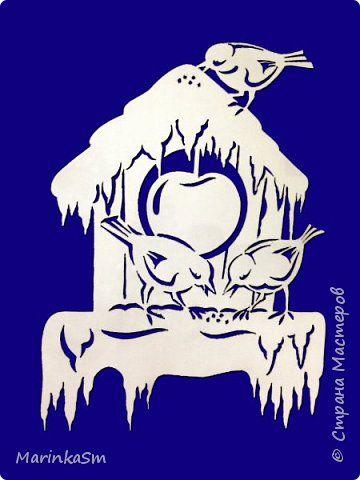 Декор предметов Новый год Вырезание Новогоднее настроение Бумага фото 1