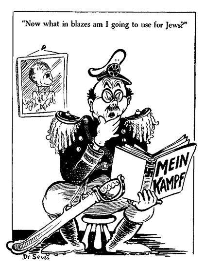 When Dr. Seuss Went to War