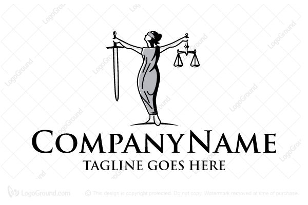 Logo for Sale: Justice Law Logo by stilographic http://www.logoground.com/logo.php?id=11108 justice law god bureau attorney lawyer palace firm college university blind business accountant consulting education logo logos