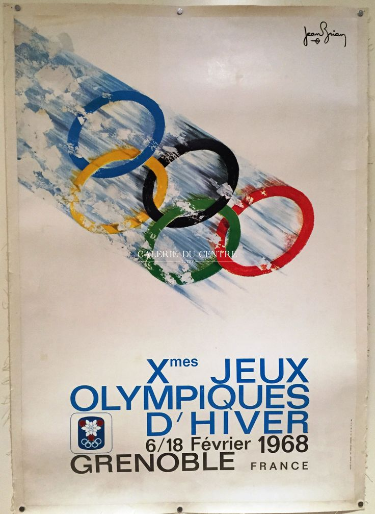JEUX OLYMPIQUES D'HIVERS GRENOBLE