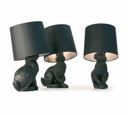A Cuddly Table Lamp   The Rabbit Table Lamp By Manufacturer Moooi Was  Designed In 2005 By The Design Group Front Design.The Unique Rabbit Lamp  Table Lamp In ...