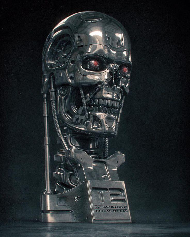 Terminator by Andrey Subbotko  Be.net/andreys-1952b8 Clickable links in my bio @staffpick  #staffpick #digitalart #sculpting #cg #render