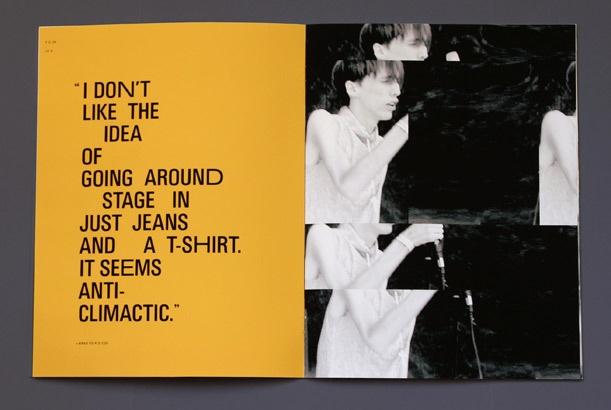 "Visual Systems 1 / ""Deerhunter"" Band Tourbook / Beau Monroe / 2010 / Instructor Troy Alders #AAU #academyofart #print http://www.beaumonroe.com/2012/03/deerhunter/#"