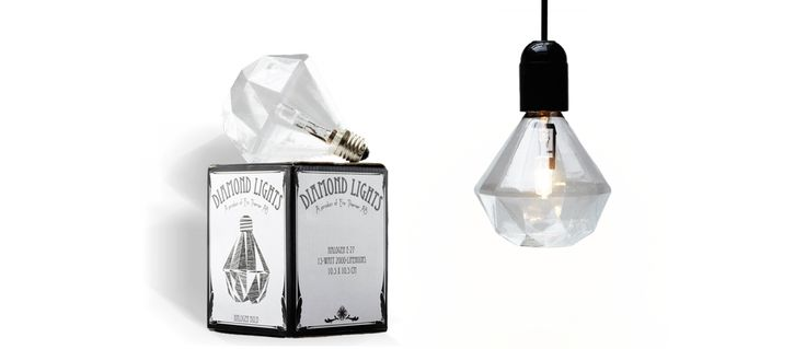 Diamond Glödlampa via Urban Collection. Click on the image to see more!