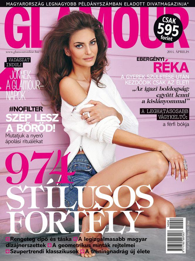 Réka Ebergényi, April 2014 issue. Photo by Norbert Zsólyomi