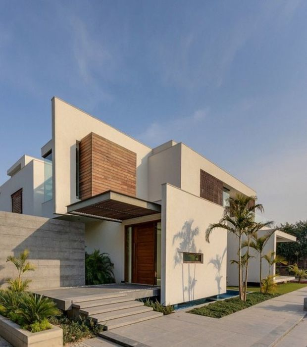 Home Design Exterior Ideas In India: Best 25+ Modern Houses Ideas On Pinterest