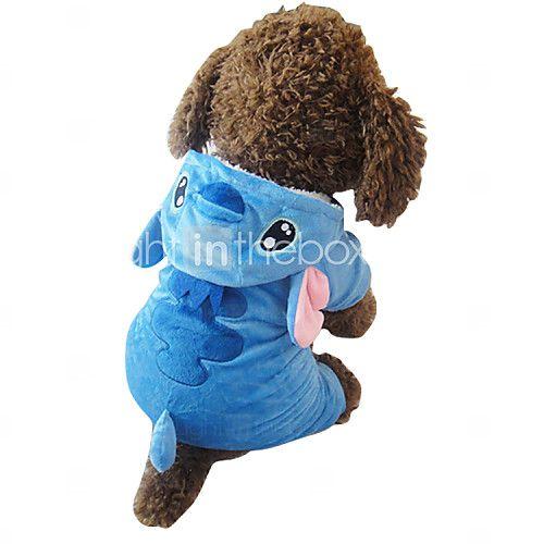 honden kostuums / Jassen / Outfits Blauw Hondenkleding Winter Dieren / Cartoon Cosplay / Halloween - EUR €13.02