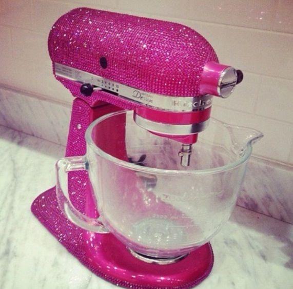Pink Sparkly Blender Kitchen Aid Pink Kitchen Kitchen