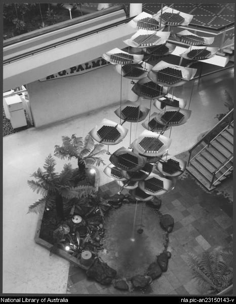 Sievers, Wolfgang, 1913-2007. Miranda shopping centre, Sydney, architects: Tomkins, Shaw & Evans (3) [picture]