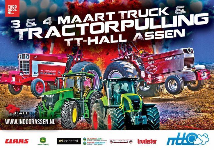 Tractorpulling Assen 2017 indoor