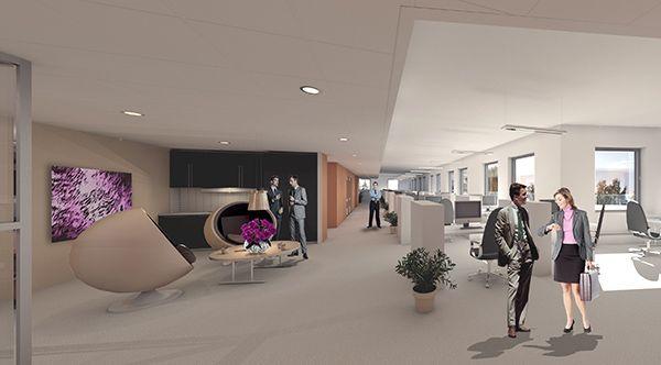 Porvoon yritystalo, luonnossuunnittelu 2013