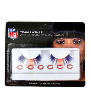 These are fantastic!!!! Who said fans can't go glam? Be the envy of every tailgate party with these glitzy eyelash extensions, complete with six bodacious beauty marks. There's no better way to flaunt and flutter team spirit.