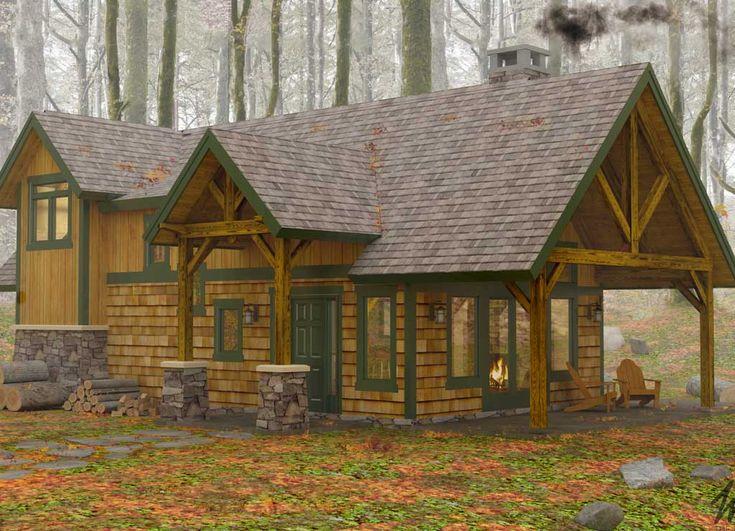 175 Best Timber Frame Images On Pinterest Log Homes