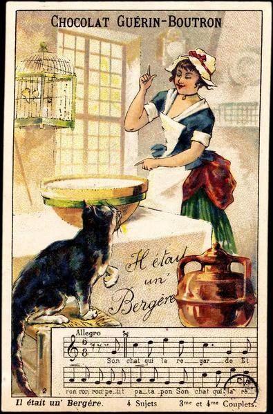 * publicité pour le chocolat Guérin-Boutron