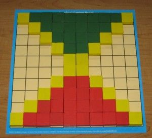 56 best Math Color Tiles images on Pinterest Mathematics games