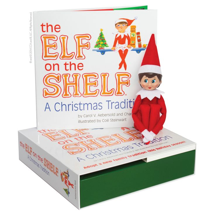 The Elf on the Shelf: A Christmas Tradition with Light Skin Tone Girl Scout Elf,