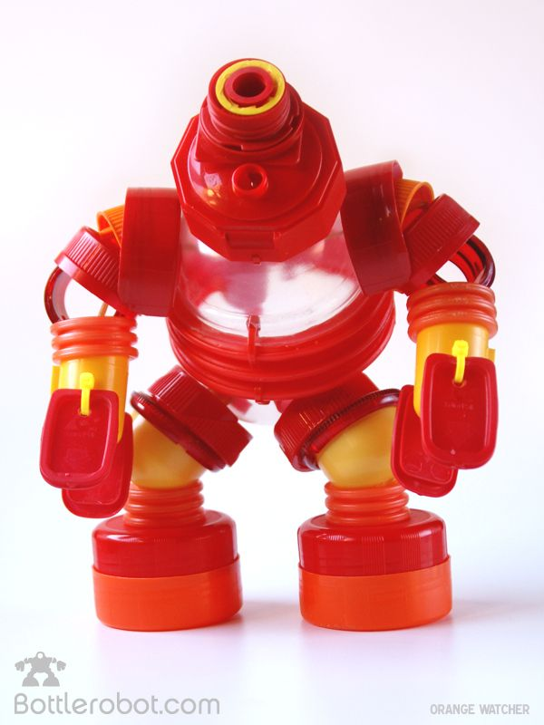 más vale arte que nunca: Bottlerobot