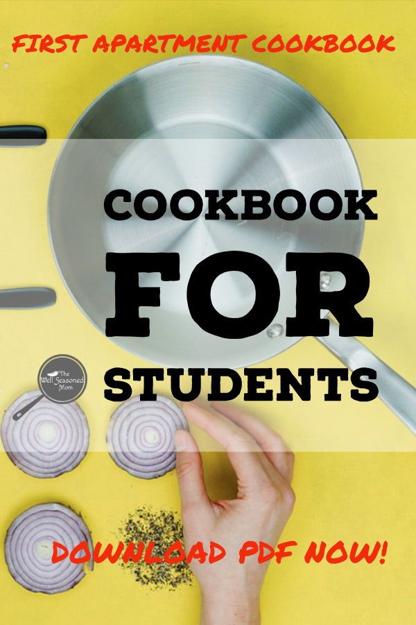 Easy Cookbook For Students Perfect The First Timer With A New Apartment Thorough Instructions Easyrecipes Studentcook