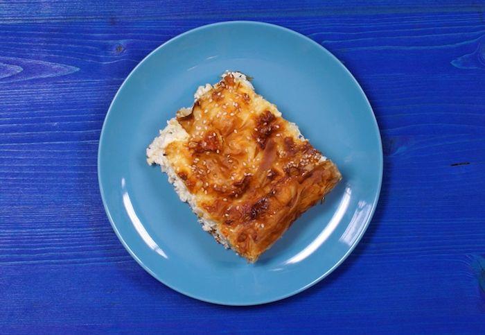 Feta cheese pie – easy to make recipe