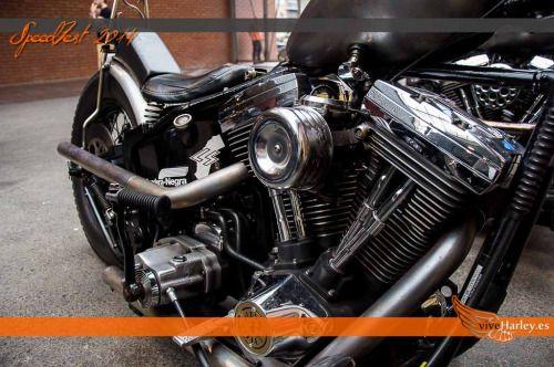 Cómo fue SpeedFest 2014 en Castellar del Vallès  Extracto de.... viveharley.es Harley Harley-Davidson Harley Davidson evolution kickstart