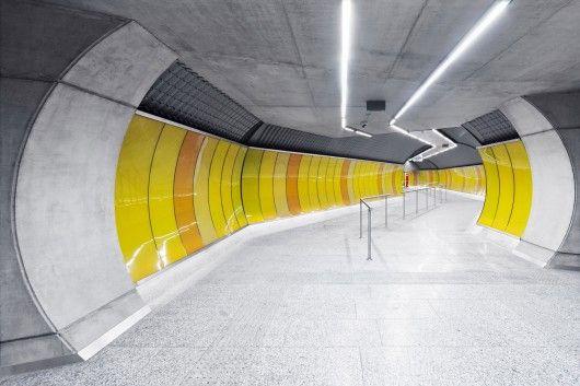Budapest Underground Line M4 – Kálvin tér Station / PALATIUM Studio