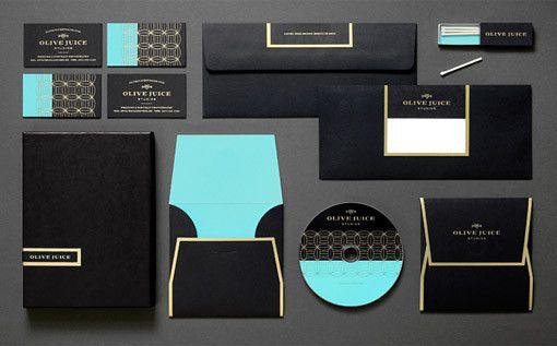 奢華美感的撞色系 品牌視覺 | MyDesy 淘靈感