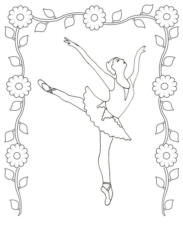 2250 best Color Me Dance images on Pinterest   Coloring books ...