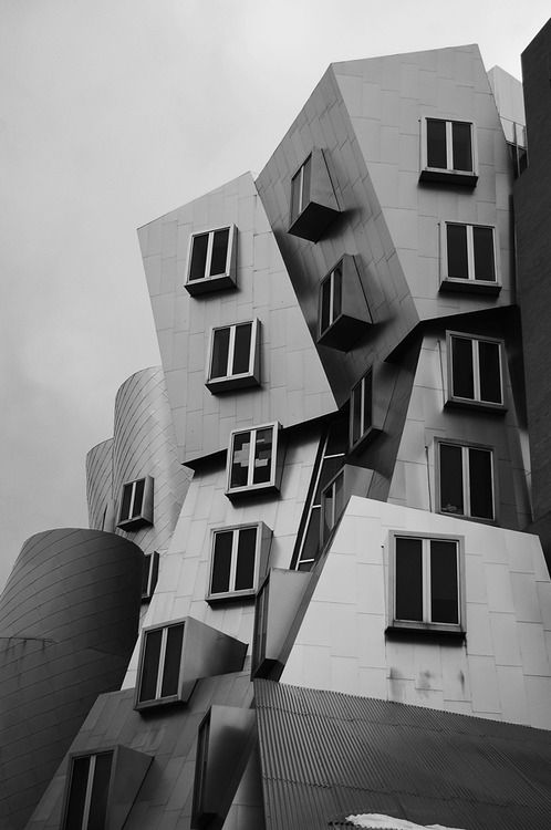 Ray and Maria Stata Center by architect Frank Gehry  for MIT - Massachusetts Institute of Technology  …  more pictures here  …